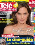 Angelina Jolie on the cover of Tele 2 Semaines (France) - August 2010