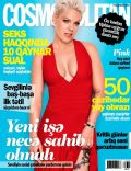 Pink on the cover of Cosmopolitan (Azerbaijan) - August 2012
