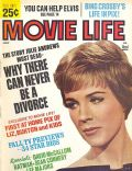 Julie Andrews on the cover of Movie Life (United States) - July 1966