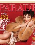 Liza Minnelli on the cover of Parade (United States) - March 2009