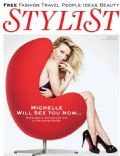 Michelle Pfeiffer on the cover of Stylist Magazine (United Kingdom) - May 2012