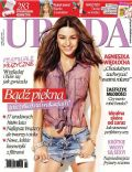 Agnieszka Wiedlocha on the cover of Uroda (Poland) - July 2014