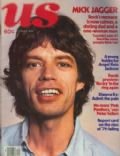 Mick Jagger on the cover of Us Magazine (United States) - October 1978