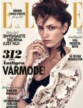 on the cover of Elle (Sweden) - March 2014