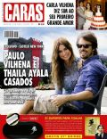 Paulo Vilhena, Thaila Ayala on the cover of Caras (Brazil) - September 2011