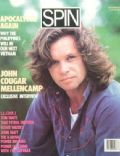 John Mellencamp on the cover of Spin (United States) - September 1987