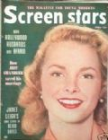 Janet Leigh on the cover of Screen Stars (United States) - April 1952