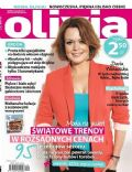Daria Widawska on the cover of Olivia (Poland) - September 2013