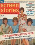 Dianne Lennon on the cover of Screen Stories (United States) - January 1967