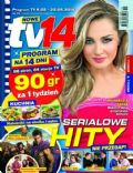 Malgorzata Socha on the cover of TV 14 (Poland) - May 2014