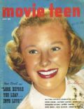 June Allyson on the cover of Movie Teen (United States) - July 1952