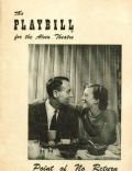 Henry Fonda on the cover of Playbill (United States) - April 1952
