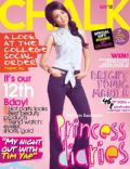 Kathryn Bernardo, Lauren Young, Megan Young on the cover of Chalk (Philippines) - August 2012