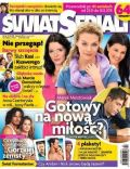 Agnieszka Sienkiewicz, Tamara Arciuch on the cover of Swiat Seriali (Poland) - November 2011