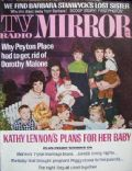 Janet Lennon on the cover of TV Radio Mirror (United States) - May 1968