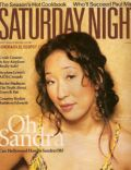 Sandra Oh on the cover of Saturday Night (United States) - October 2005