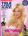 Victoria Silvstedt on the cover of Tele Cable Satellite (France) - October 2009