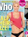 Pink on the cover of Who (Australia) - January 2013