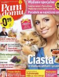 Agnieszka Popielewicz on the cover of Pani Domu (Poland) - October 2011