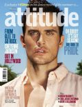 Cheyenne Jackson on the cover of Attitude (United Kingdom) - July 2012