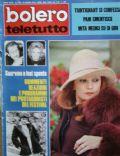 Bolero Teletutto Magazine [Italy] (24 March 1974)