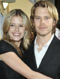 Sarah Wright and Eric Olsen