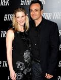 Hank Azaria and Katie Wright