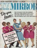 Dianne Lennon, Janet Lennon, Kathy Lennon, Peggy Lennon on the cover of TV Radio Mirror (United States) - February 1968