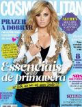 Demi Lovato on the cover of Cosmopolitan (Portugal) - February 2014