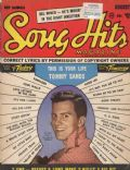 Pat Boone on the cover of Song Hits (United States) - August 1957