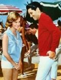 Shelley Fabares and Elvis Presley