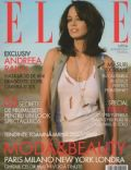 Andreea Raicu on the cover of Elle (Romania) - September 2007