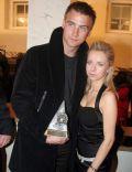Artur Boruc and Katarzyna Modrzewska