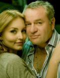Angelique Boyer and José Alberto Castro