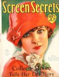 May McAvoy on the cover of Screen Secrets (United States) - September 1928