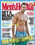 on the cover of Mens Health (Australia) - December 2012