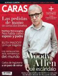 Woody Allen on the cover of Caras (Peru) - February 2014