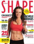 Michelle Bridges on the cover of Shape (Australia) - April 2012