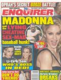 Madonna on the cover of National Enquirer (United States) - July 2008