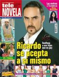 Alberto Casanova, Cielo Rojo on the cover of Tele Novela (Spain) - May 2012