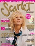 Kirsten Dunst on the cover of Scarlet (United Kingdom) - December 2008