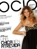 Jimena Buttigliengo on the cover of Ocio Magazine (Argentina) - August 2008