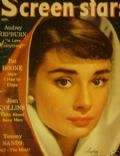 Audrey Hepburn on the cover of Screen Stars (United States) - September 1957