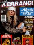 Bret Michaels on the cover of Kerrang (United Kingdom) - January 1993
