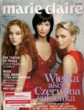 Anna Samusionek, Grazyna Wolszczak, Monika Brodka on the cover of Marie Claire (Poland) - October 2005