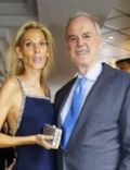 John Cleese and Jennifer Wade (spouse)