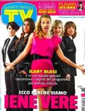 Ilary Blasi on the cover of TV Sorrisi E Canzoni (Italy) - April 2012