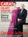 Oscar de la Renta on the cover of Caras (Puerto Rico) - December 2009