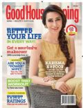 Karisma Kapoor on the cover of Good Housekeeping (India) - October 2013
