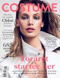Mona Johannesson on the cover of Costume (Denmark) - March 2013